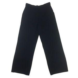 St. John Santana knit black pull on pants comfort